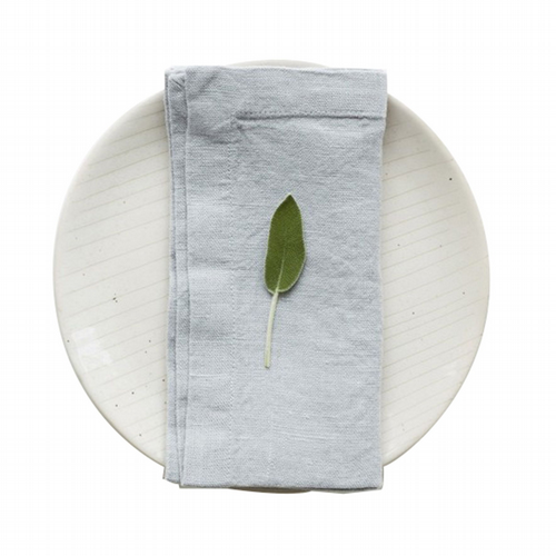 Linen Napkins Set Of 2 - Light Grey